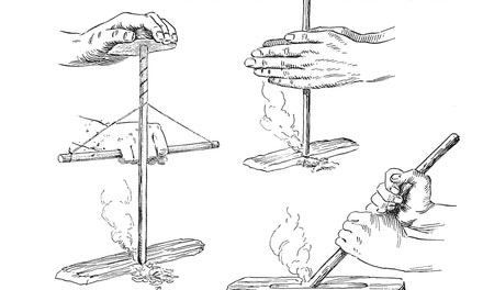 Primitive Methods of Making Fire